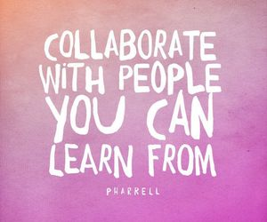 learn, quotes, and collaborate image