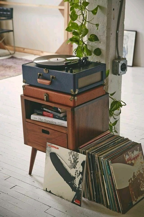 vintage, music, and home image