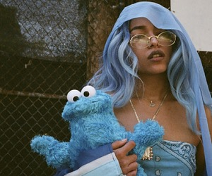 blue and princess nokia image