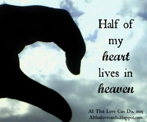 heart, heaven, and quotes image