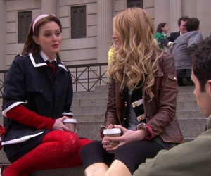 blair, gossip girl, and serena image