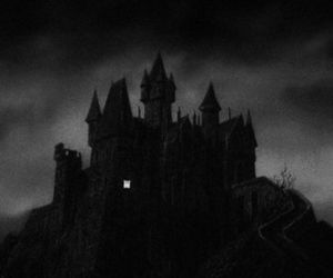 castle, creepy, and horror image