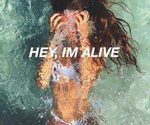 alive, beach, and bikini image