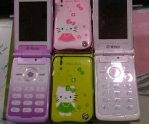 cellphone, kawaii, and flipphone image