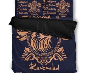 bed linen, hogwarts, and ravenclaw image