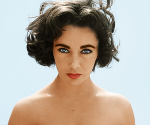 50's, Elizabeth Taylor, and rip image
