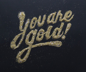 gold and quotes image