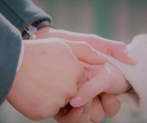 drama, hands, and korean image
