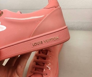 shoes, Louis Vuitton, and pink image