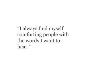 comforting image