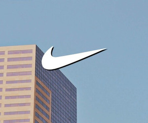 nike, aesthetic, and blue image