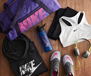 nike, fitness, and gym image
