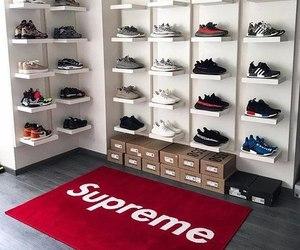 supreme, shoes, and adidas image