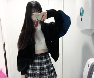 asian, girl, and outfit image