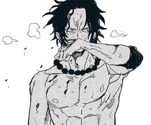 ace, anime, and portgas d. ace image