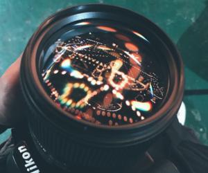 beautiful, camera, and lights image