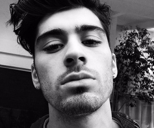 b&w, malik, and one direction image