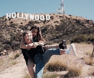 girl, friendship, and hollywood image