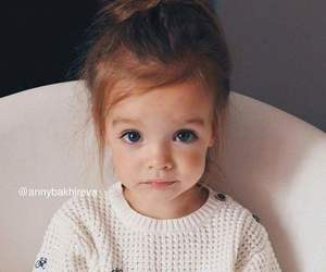 cute, baby, and girl image