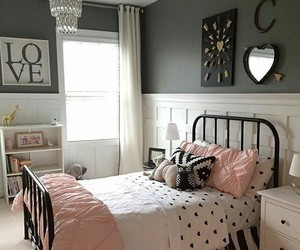 bedroom, decoration, and home image