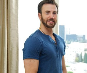 actor, chris evans, and muscles image
