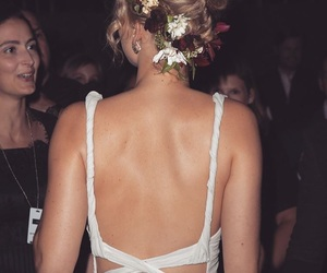 beauty, flowers, and jlaw image