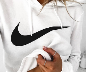 blonde, girl, and nike image