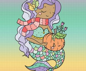 Fall mermaid 🍁