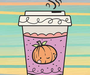 autumn, background, and coffee image