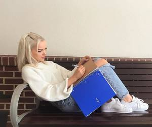 dove cameron, blonde, and dove image