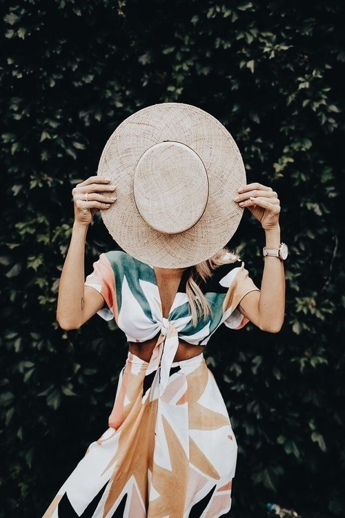 fashion, hat, and summer image