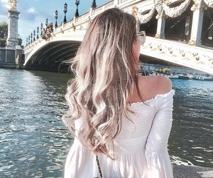 beauty, hair, and paris image
