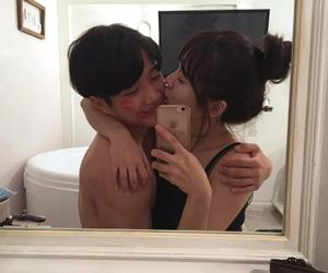 korean, ulzzang, and couple image