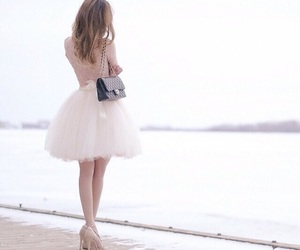 dress, girly, and fashion image