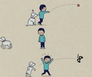 dog, celular, and funny image