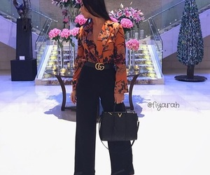 bag, gucci, and outfit image