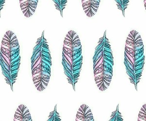 blue, colors, and feather image