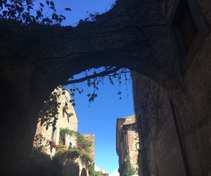 autunno, cielo, and italy image