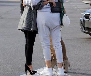 sisters, khloe kardashian, and kourtney kardashian image