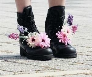 alternative, boots, and girl image