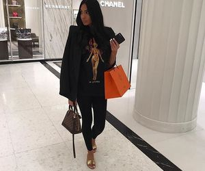 Louis Vuitton, luxury, and outfit image