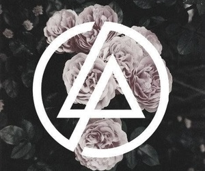 linkin park, music, and flowers image