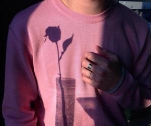 pink, rose, and boy image