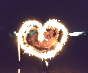 beautiful, fire, and fun image
