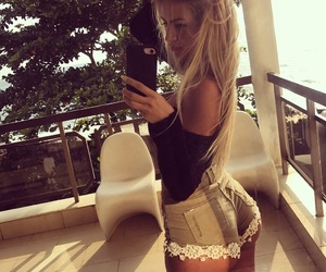 blonde, sexy, and butt image