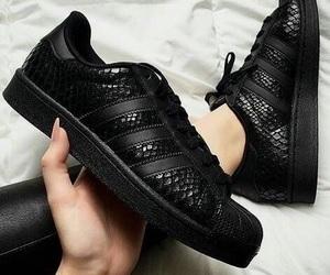 adidas, black, and luxury image