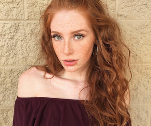redhead, ginger, and girl image