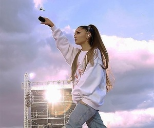 ariana grande, ariana, and manchester image