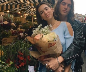 dua lipa and couple image