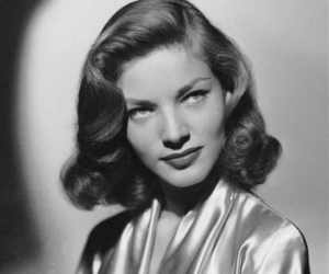 hair and Lauren Bacall image